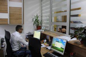otvaranje rekonstruisanog biroa u kladnju 3