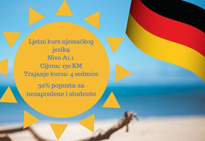 Ljetni kurs njemackog jezika ces tuzla